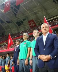 Konya'da Letonya Maçına Büyük İlgi