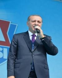 Erdoğan'ın Konya Mitinginden Kareler