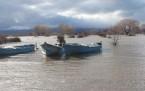 Beyşehir Gölünde Sular Yükseldi