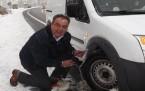 Konya Antalya Yolunda Kar Çilesi