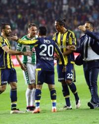 Konya'daki Fenerbahçe Maçından Kareler