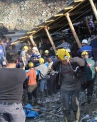 Ermenek'teki Madeni Su Bastı