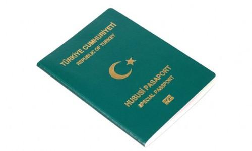 15 bin kişiye yeşil pasaport hakkı geliyor