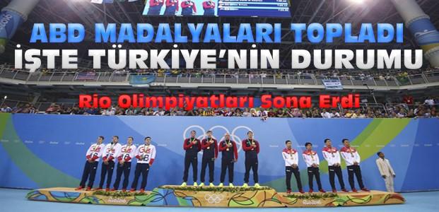 2016 Rio Olimpiyat Oyunlarında Türkiye