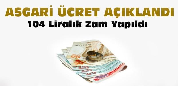 2017 Asgari Ücret Oranı Açıklandı