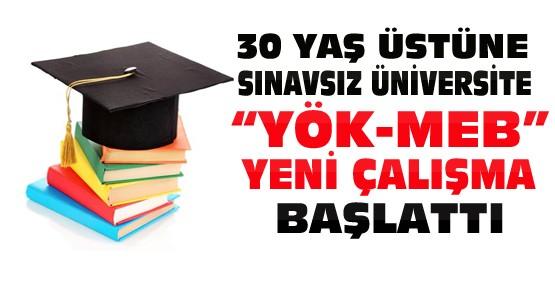 30 Yaş Üstüne Sınavsız Üniversite
