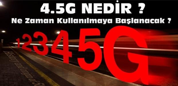 4.5G'de Dev İhale