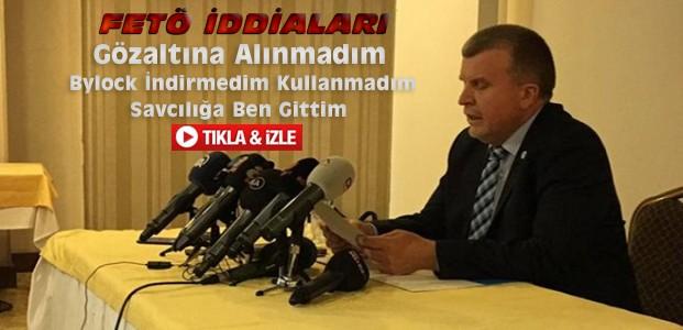 Ahmet Şan FETÖ İddialarına Yanıt Verdi-VİDEO