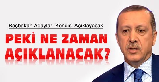 AK Parti  Adaylarını Ne Zaman Açıklayacak ?