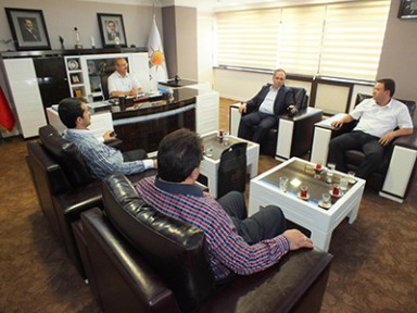 AK Parti Diyarbakır İl Başkanından Sorgun'a Ziyaret