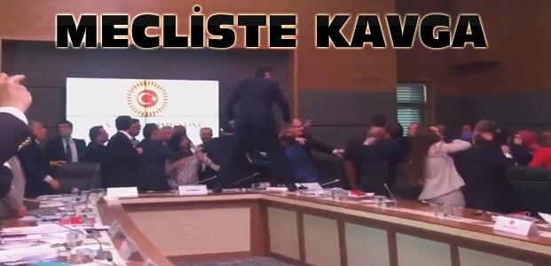 Ak Parti HDP Vekilleri arasında kavga çıktı