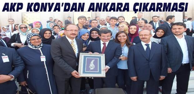 Ak Parti Konya'dan Ankara'ya Çıkarma
