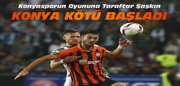 A.Konyaspor Shakhtar Donetsk Maç Sonucu
