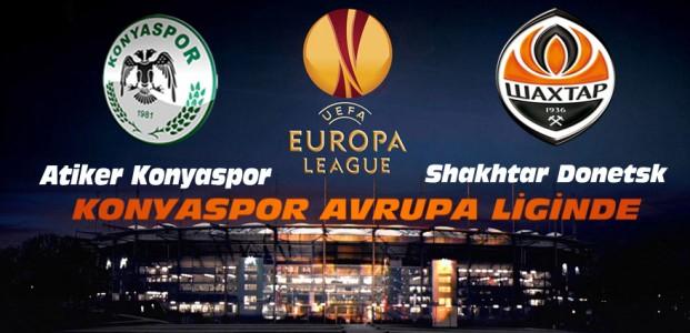 A.Konyaspor Shakhtar Donetsk Maçı