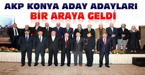AKP Konya Aday Adayları Oteldeki Programda Buluştu