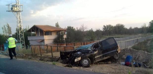 Akşehir'de Trafik Kazaları: 5 Yaralı