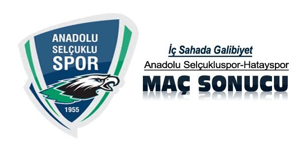 Anadolu Selçukluspor-Hatayspor Maç Sonucu