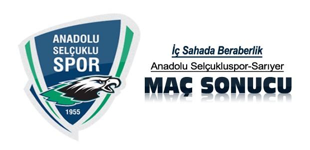 Anadolu Selçukspor Sarıyer maç sonucu