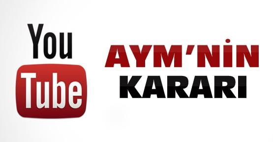Anayasa Mahkemesi Youtube Yasağını Karara Bağladı
