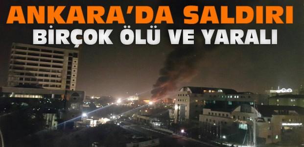 Ankara'da Patlama:Birçok Ölü ve Yaralı