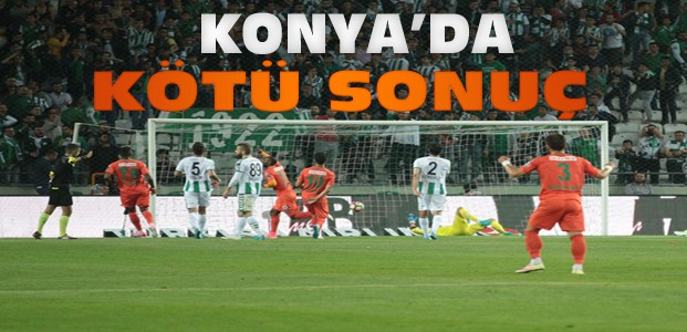 Atiker Konyaspor-Aytemiz Alanyaspor Maç Sonucu
