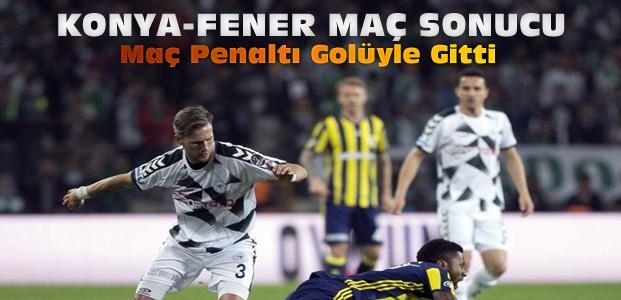 Atiker Konyaspor Fenerbahçe Maç Sonucu