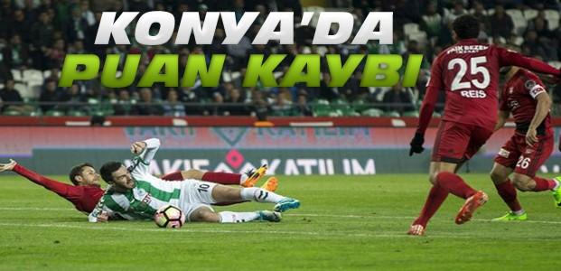 Atiker Konyaspor-Gaziantepspor Maç Sonucu