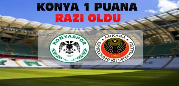 Atiker Konyaspor Gençlerbirliği-Maç Sonucu