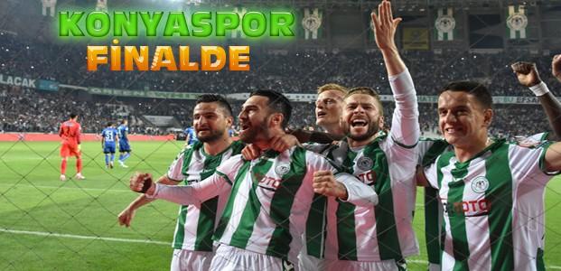 Atiker Konyaspor Kasımpaşa'yı Yenerek Finale Çıktı