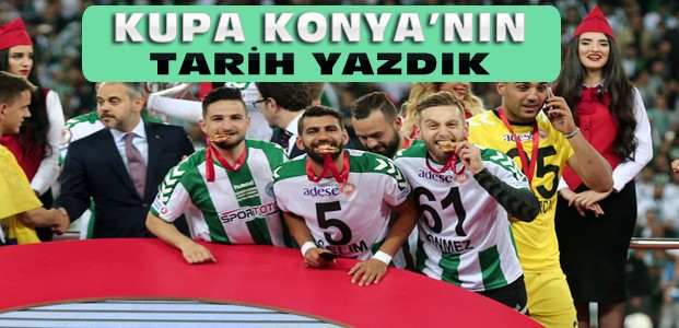 Atiker Konyaspor Kupanın Sahibi