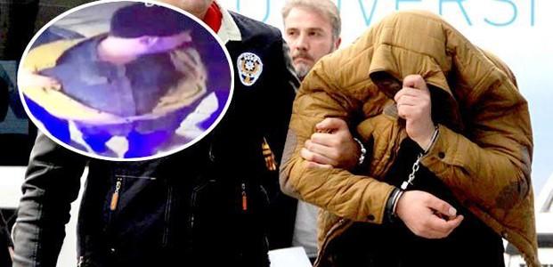 ATM'ye Yerleştirdiği Cihazı Sökmeye Gelince Yakalandı