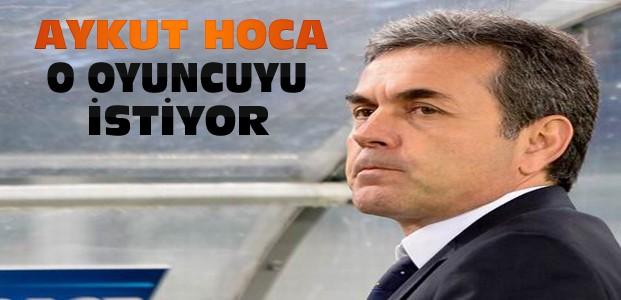 Aykut Hoca Alves'i istiyor