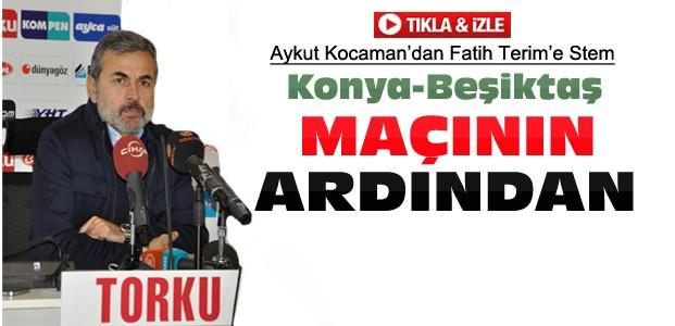 Aykut Kocaman'dan Beşiktaş maçı açıklamaları-VİDEO