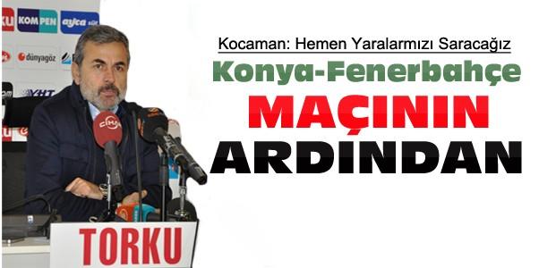 Aykut Kocaman'dan Fenerbahçe maçı açıklamaları