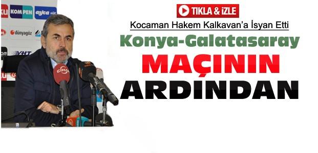 Aykut Kocaman'dan Maç Sonrası İsyan-VİDEO
