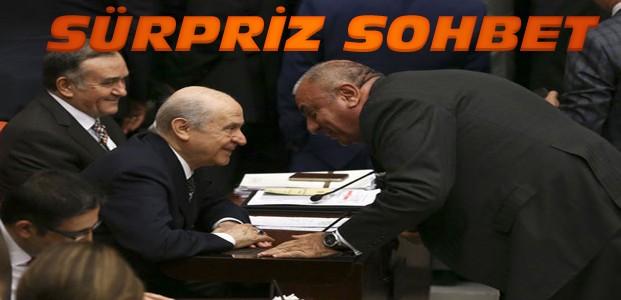 Bahçeli ve Türkeş Mecliste ne konuştu?