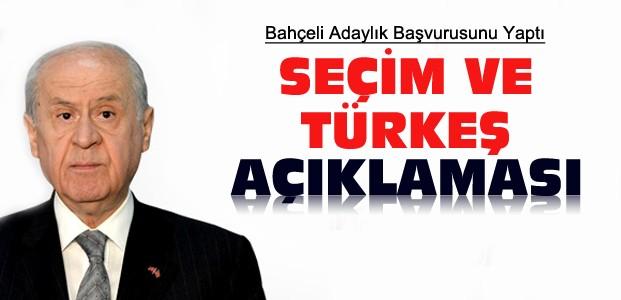 Bahçeli'den Seçim ve Türkeş Açıklamaları