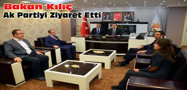 Bakan Çağatay Kılıç Konya AKP'yi Ziyaret Etti