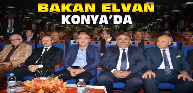 """Bakan Elvan:""""Bizde Masa Başı Siyaset Olmaz"""""""