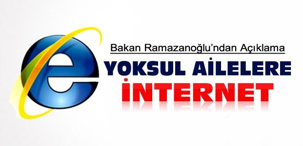 Bakan'dan Bedava İnternet Açıklaması