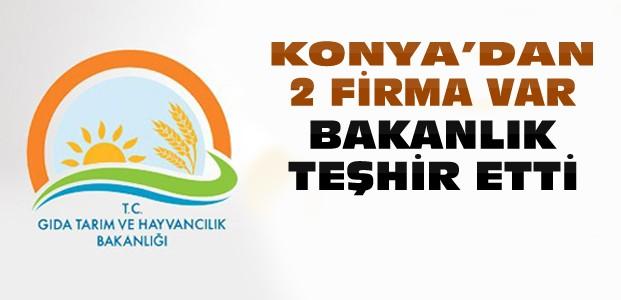 Bakanlık Hileli Ürünleri Teşhir Etti-Konya'dan 2 Firma