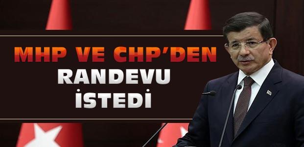 Başbakan Bahçeli ve Kılıçdaroğlu'yla Görüşecek