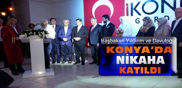 Başbakan Binali Yıldırım Konya'ya Geldi