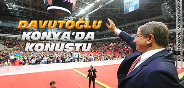 Başbakan Davutoğlu Konya'da Konuştu