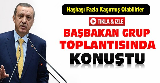 Başbakan Erdoğan:Haşhaşı fazla kaçırmış olabilirler-VİDEO