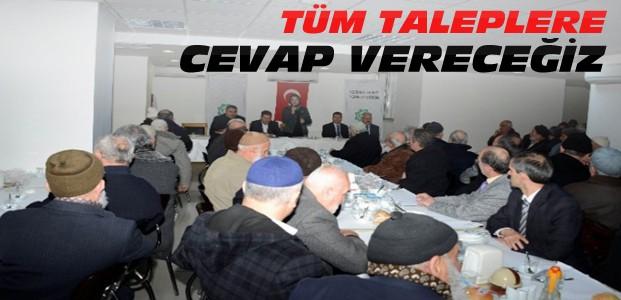 Başkan Fatma Toru'nun Cuma Buluşmaları Sürüyor