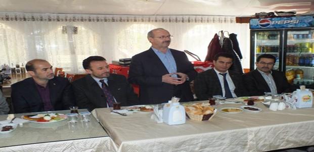 Başkan Sorgun'dan İlçelere Veda Ziyareti