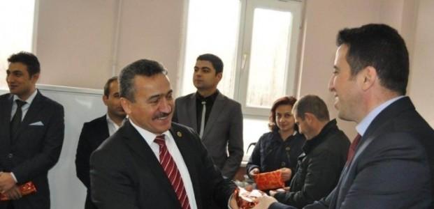 Başkan Tutal'dan Öğretmenlere Ziyaret