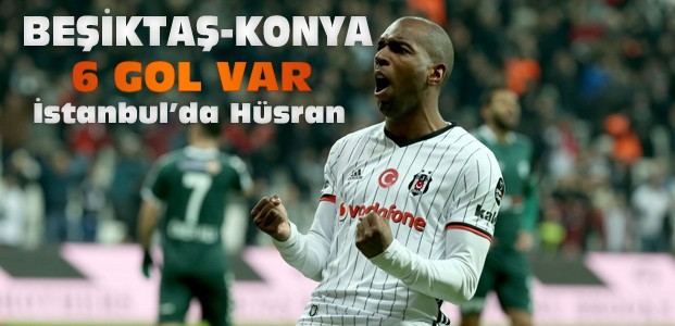Beşiktaş-Atiker Konyaspor Maç Sonucu