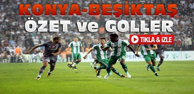 Beşiktaş-Atiker Konyaspor Süper Kupa Özet-VİDEO